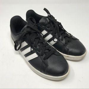 Adidas Tennis Shoes 1Y3001 SZ 7 Black White